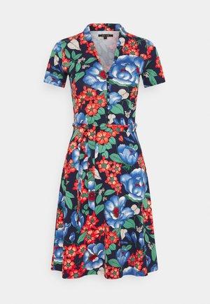 EMMY DRESS KIMORA - Shirt dress - blue