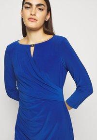 Lauren Ralph Lauren - MID WEIGHT DRESS TRIM - Shift dress - summer sapphire - 3