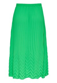 ONLY - MIDIROCK PLEATED - A-line skirt - kelly green - 5