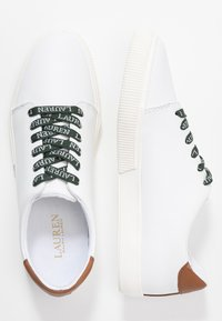 Lauren Ralph Lauren - JOANA - Sneakers - white/deep saddle - 3