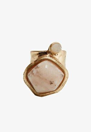 MIT NATURSTEIN - Ring - beige
