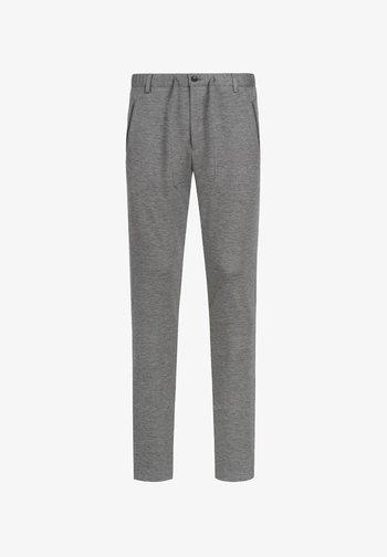 DISPARTAKUS SLIM - Trousers - grau
