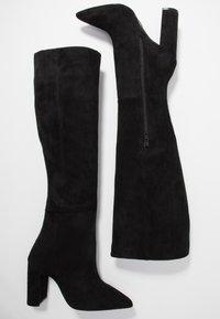Buffalo - FINKA - High heeled boots - black - 3