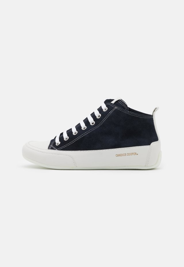 MID - High-top trainers - navy/bianco