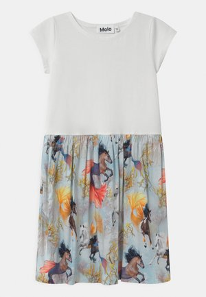 CARLA - Jersey dress - multi-coloured