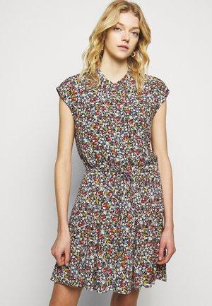 OLLIE DRESS - Denní šaty - black/multi