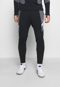 Nike Performance - DRY ACADEMY SUIT - Tracksuit - black/black/white/white - 3