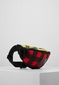 Nike Sportswear - HERITAGE HIP PACK PLAID - Vyölaukku - black/gunsmoke - 3