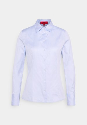 Button-down blouse - light pastel blue