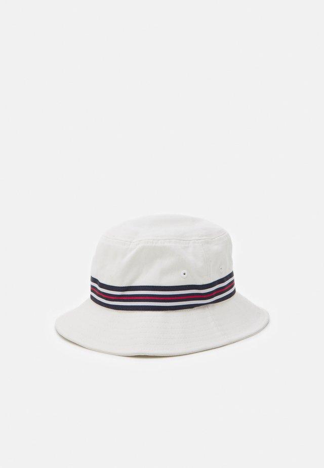 BUCKET HAT HERITAGE TAPE UNISEX - Klobouk - blanc de blanc