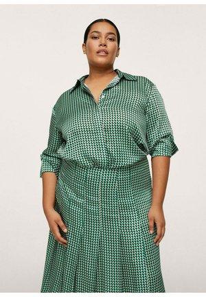 BLUSA  - Button-down blouse - verde