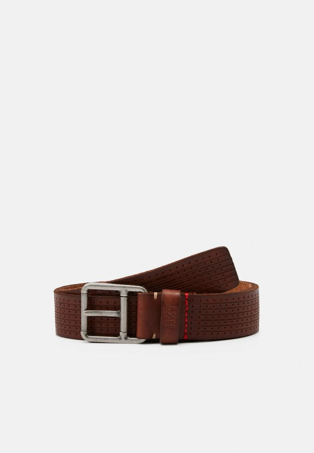 NEW PUNCH BELT - Gürtel - brown