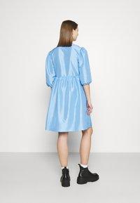Monki - CELIA DRESS - Vardagsklänning - blue light - 2