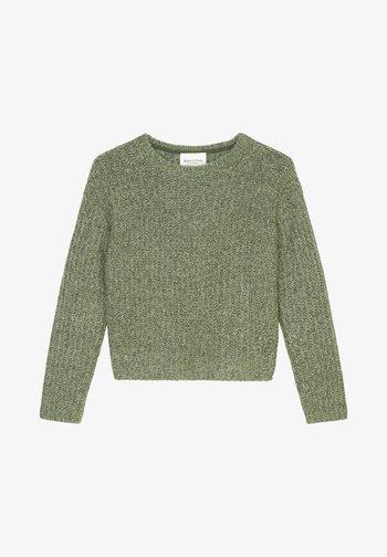 MOULINÉ MIT EDLER ALPAKA - Jumper - multi/fresh moss