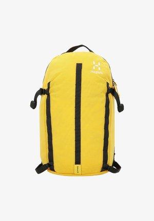 Rucksack - pumpkin yellow/true black