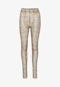Soaked in Luxury - Leggingsit - love print ermine - 4