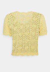 Monki - MIKKI - Cardigan - yellow dusty light - 6