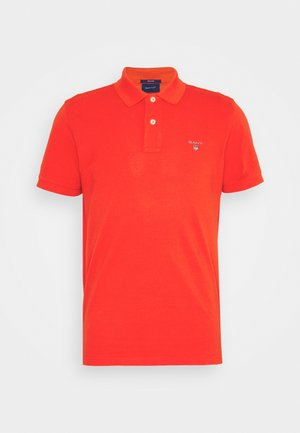 THE ORIGINAL RUGGER - Polo shirt - lava red