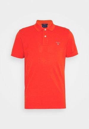 THE ORIGINAL RUGGER - Poloshirt - lava red