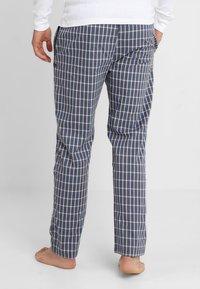TOM TAILOR - Pyjama bottoms - blue-dark-check - 2