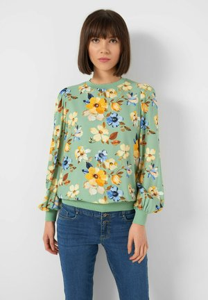Blouse - mint green