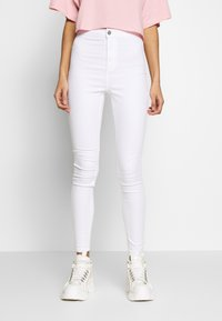 Missguided - VICE HIGH WAISTED - Jeans Skinny Fit - white - 0