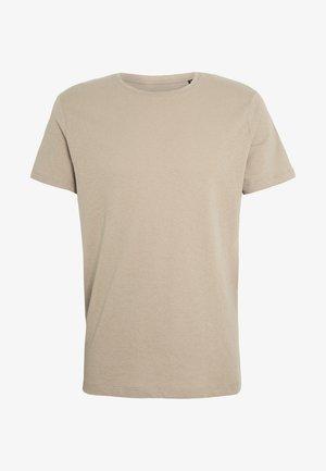 JJELINEN BASIC TEE SS CREW NECK STS - Basic T-shirt - crockery