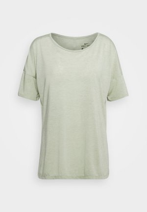 YOGA LAYER - Basic T-shirt - celadon heather/olive aura