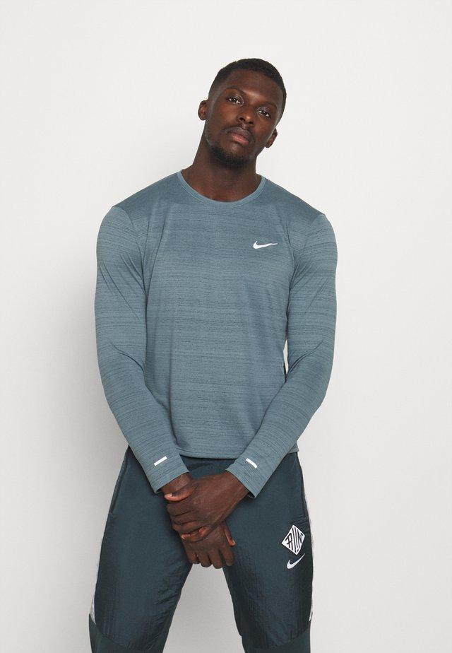 MILER - T-shirt sportiva - ozone blue/silver
