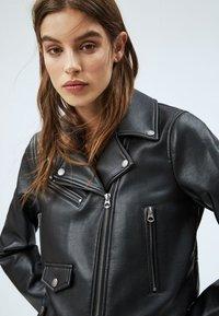 Pepe Jeans - GWEN - Imitatieleren jas - black - 3