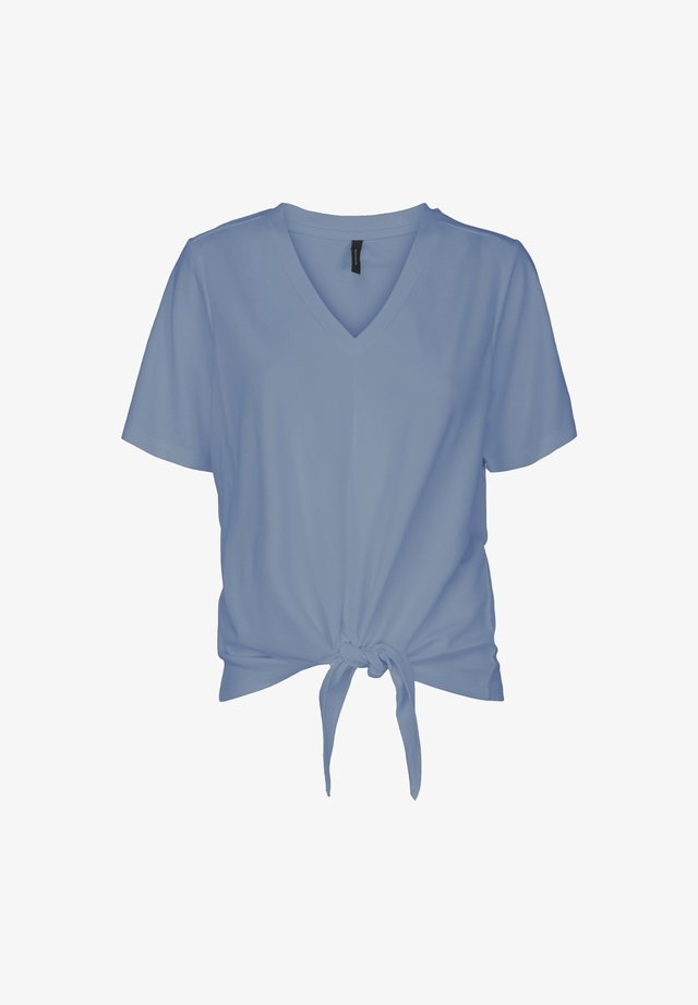 MABLE TEE - T-shirt con stampa - ashley blue