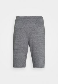 Under Armour - RIVAL TERRY SHORT - Träningsshorts - pitch gray full heather - 5