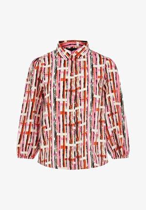 PCROSIA  - Button-down blouse - azalea pink