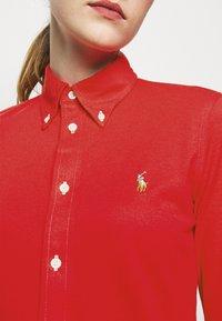Polo Ralph Lauren - HEIDI LONG SLEEVE - Button-down blouse - bright hibiscus - 5