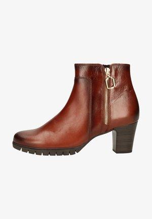 Platform ankle boots - sattel