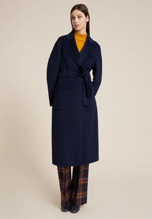 SCUDO - Classic coat - blu medio