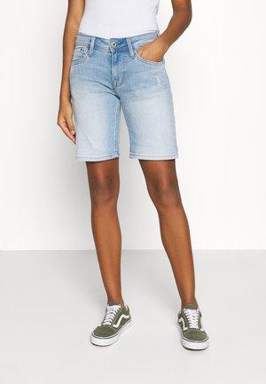 POPPY - Short en jean - denim