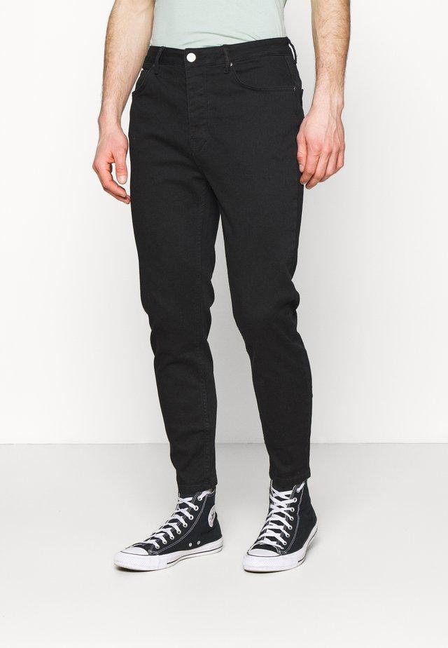 CARROT - Zúžené džíny - true black