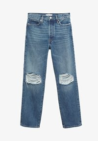 Mango - Relaxed fit jeans - medium blue - 6