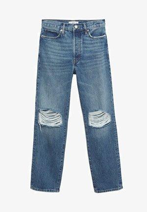 Džíny Straight Fit - medium blue