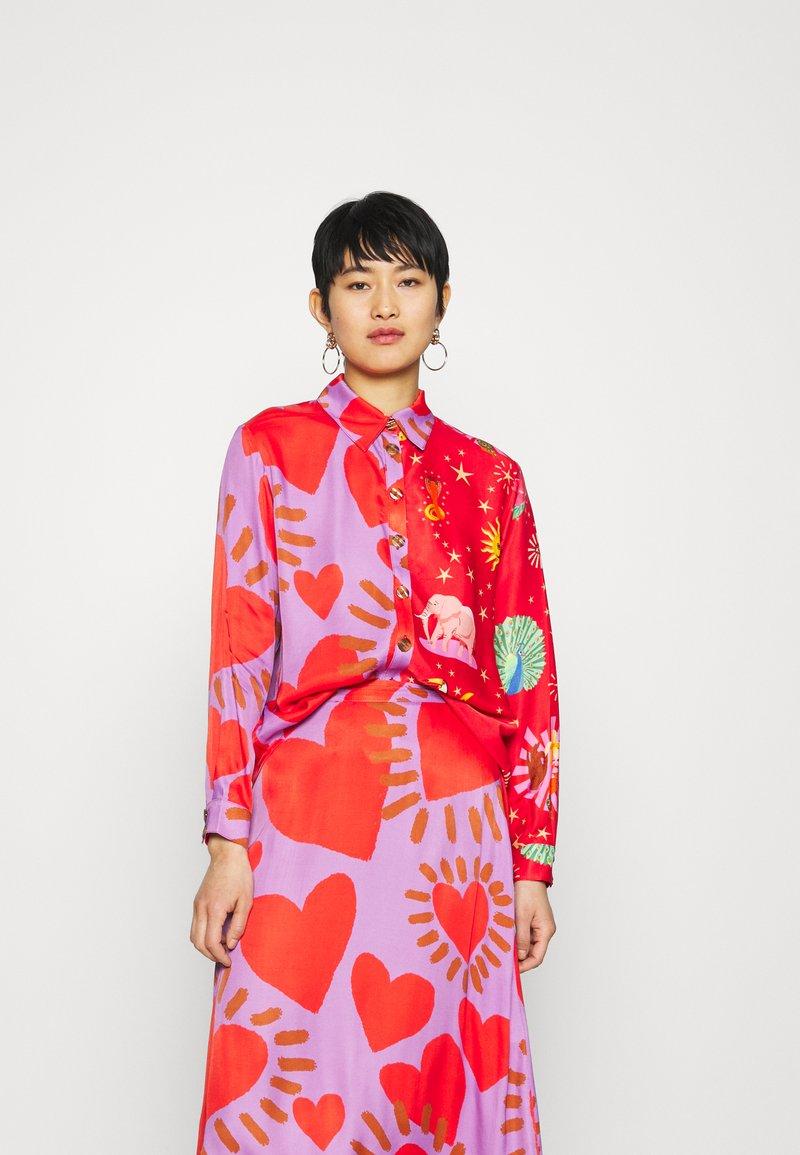 Farm Rio - MIXED PRINTS - Button-down blouse - multi