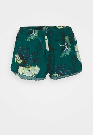 SHORT LOTUS BIRD - Pyjama bottoms - storm