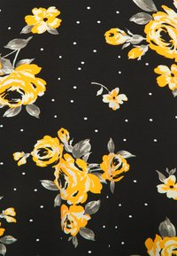 Anna Field - Vestido ligero - Black/yellow - 2