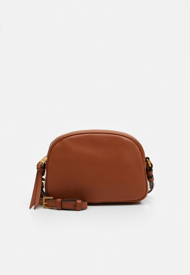 DEVON CAMERA BAG DETACHABLE STRAP - Schoudertas - old english saddle