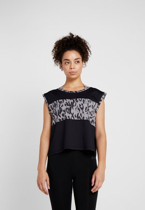 WIDE BODY - T-shirts med print - black