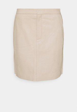 HELVIG - Mini skirt - humus
