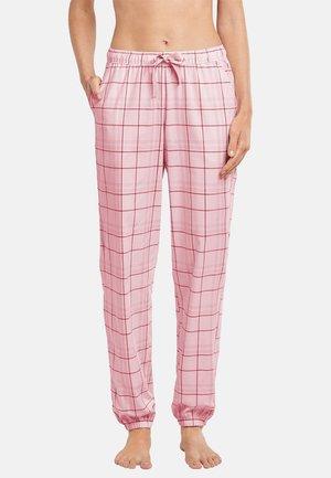 Pyjama bottoms - rosa gemustert