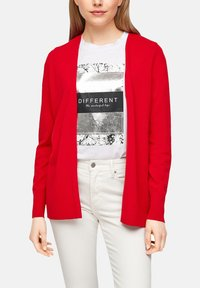 s.Oliver - Cardigan - red - 3