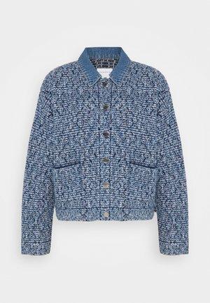 JENY - Denim jacket - marine/ecru