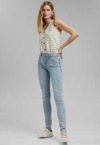 Esprit - Jeans Skinny Fit - blue bleached - 5